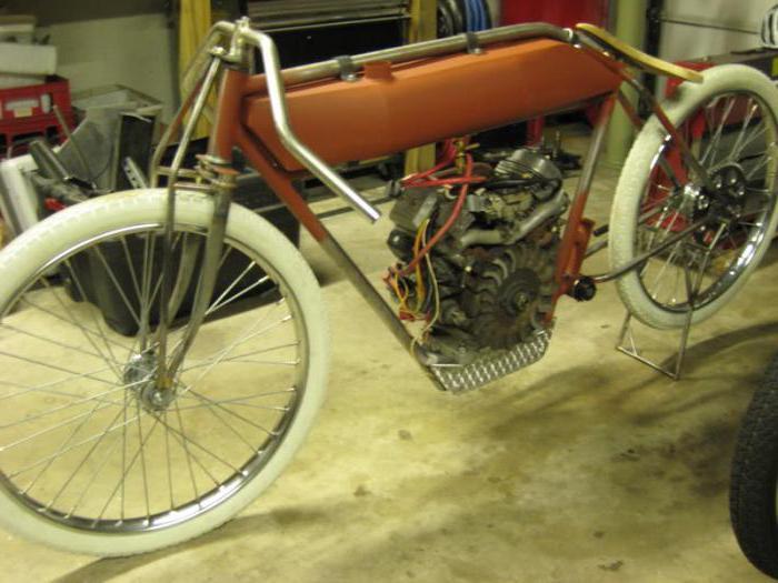 немецкий мотоцикл на гусеницах