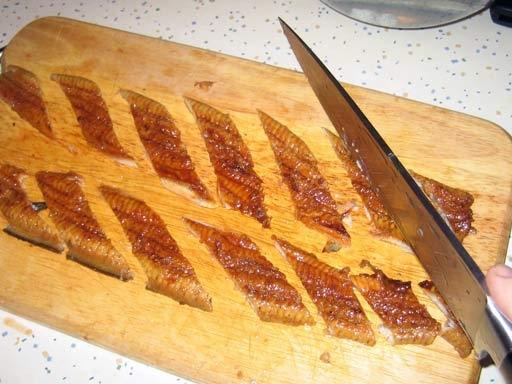 Угорь для приготовления суши