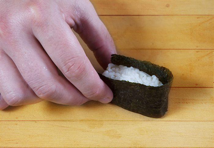 корзиночка для суши гункан