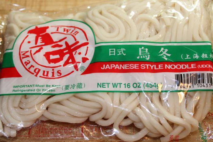 Рецепты из японской лапши удон