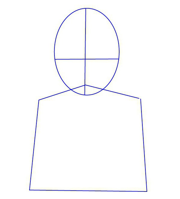 How to draw a man: detailed instructions