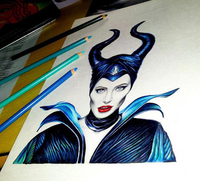 A detailed guide on how to draw: Maleficent.