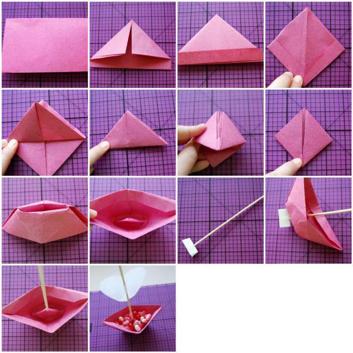 Оригами своими руками на день рождения маме