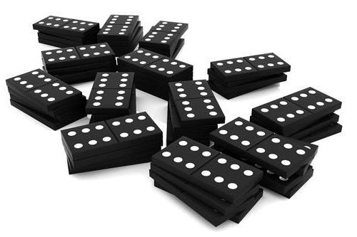 Сколько домино в наборе, или Все о древней игре