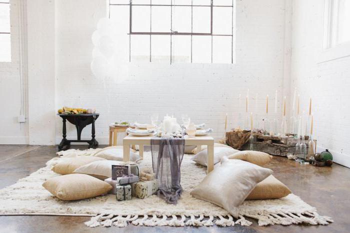 напольные подушки для сидения