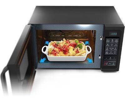 микроволновая печь без поворотного стола