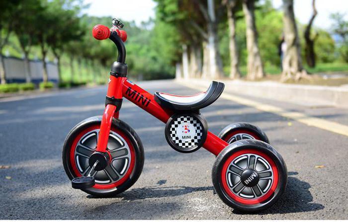 трехколесный велосипед мини