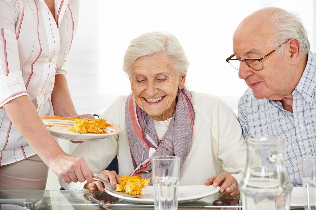 диета для пожилых людей