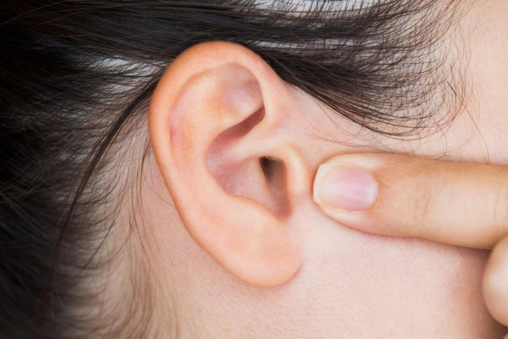 eardrum inflammation in a child
