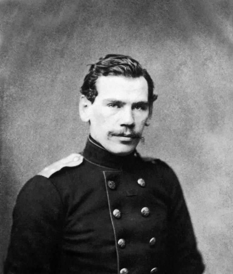 Count Leo Tolstoy of youth