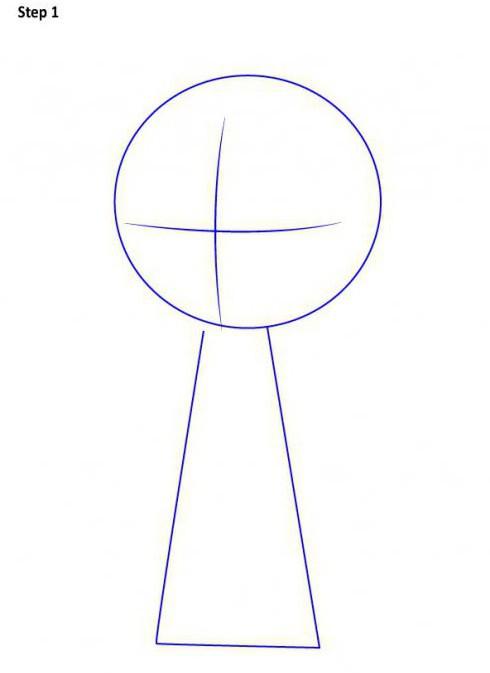 как нарисовать рейвен из юных титанов поэтапно