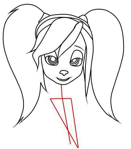 как нарисовать розу из барбоскиных карандашом