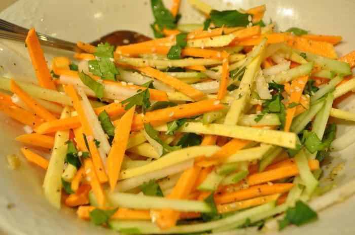 как приготовить салат из репы желтой