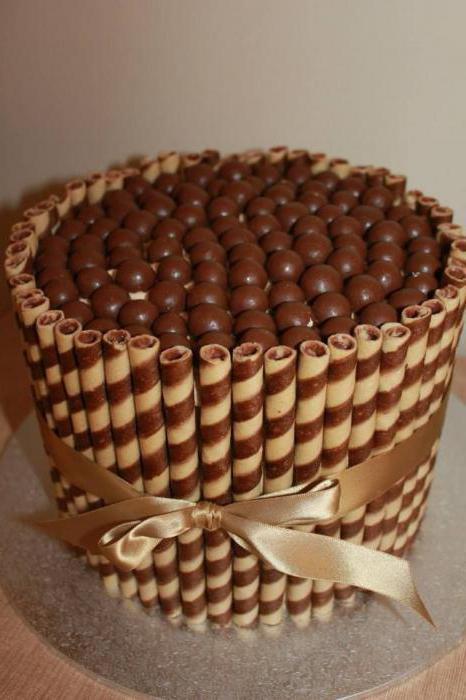 заварной крем для украшения торта