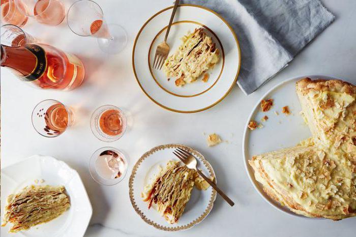 украшение торта наполеон