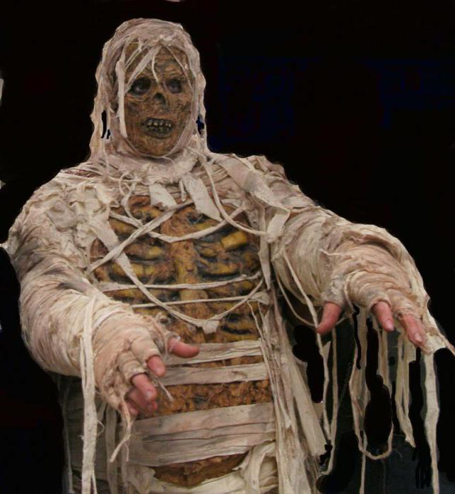 костюм мумия образы