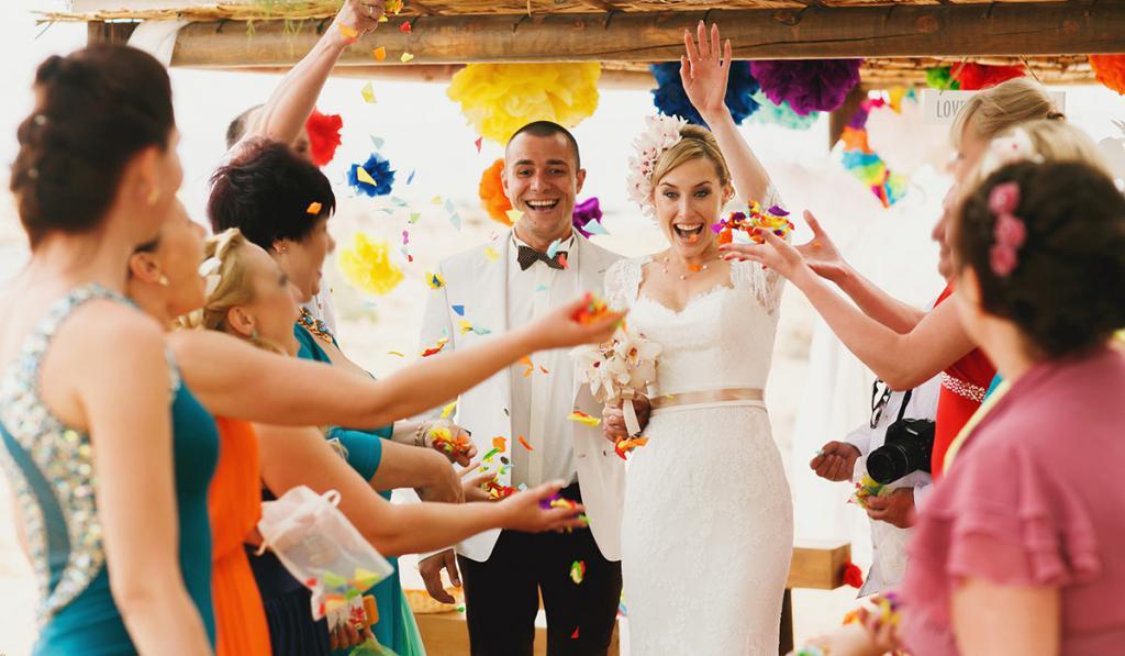 конкурсы для молодоженов на свадьбе прикольные застольные может