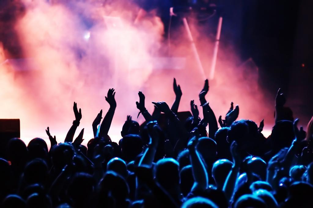 Концерт в самом разгаре