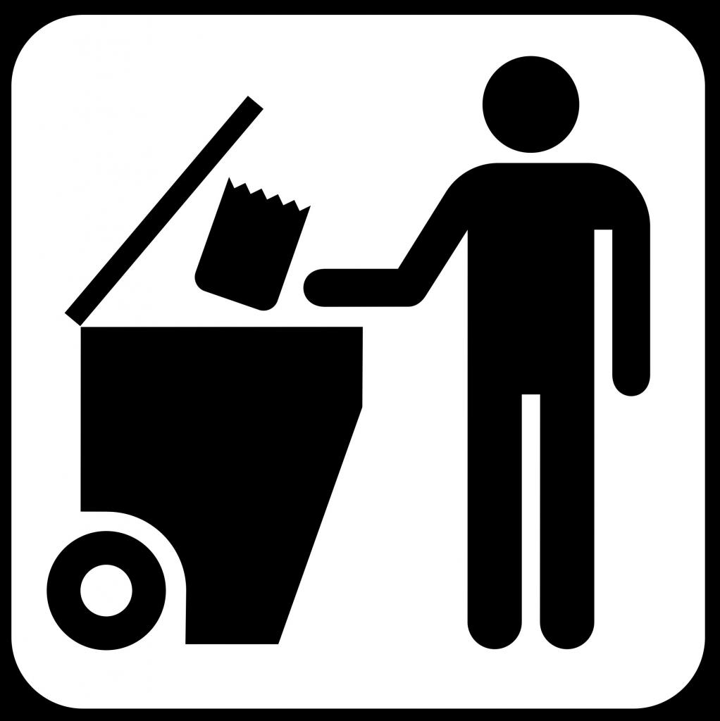How to sort garbage