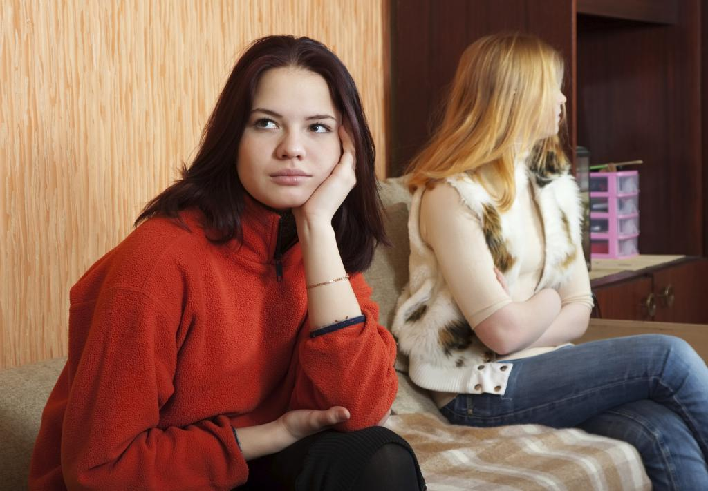 Resentment of women in the room