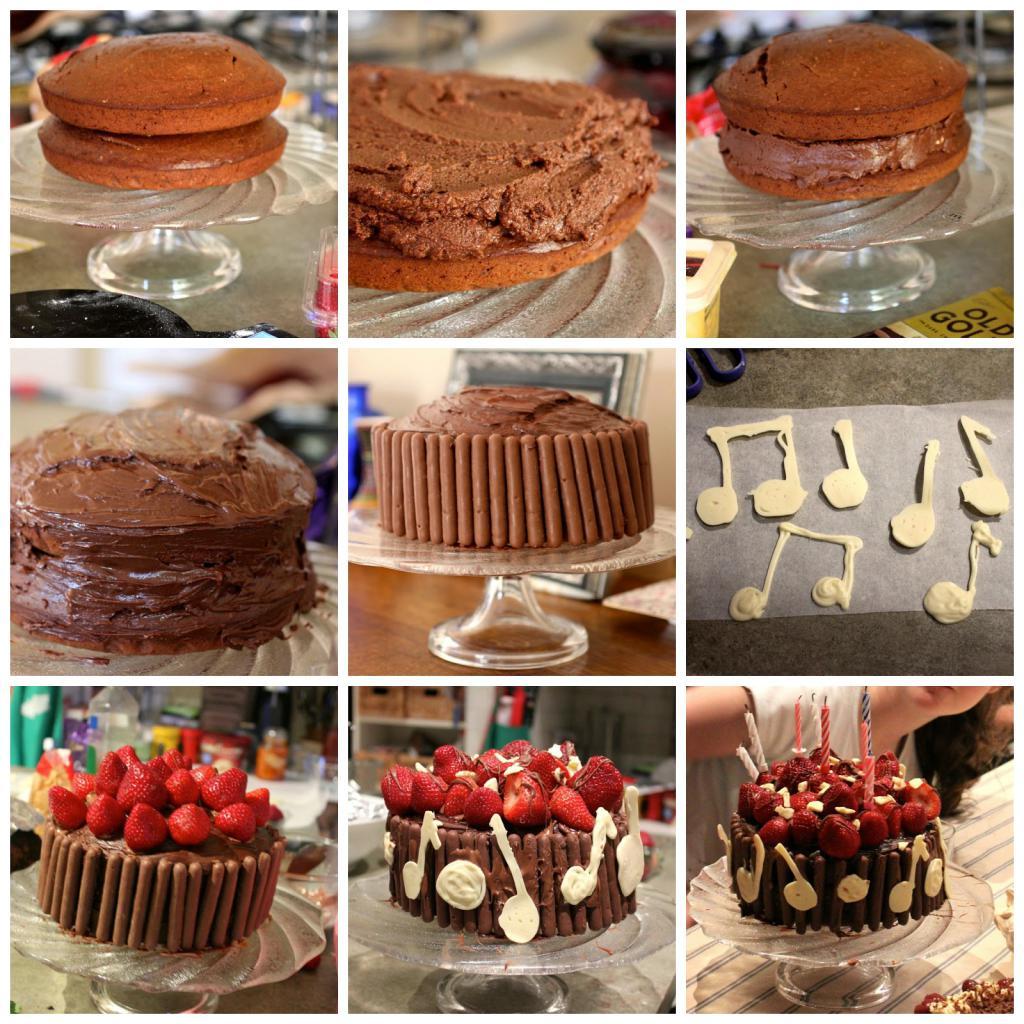 Пошаговая инструкция торта