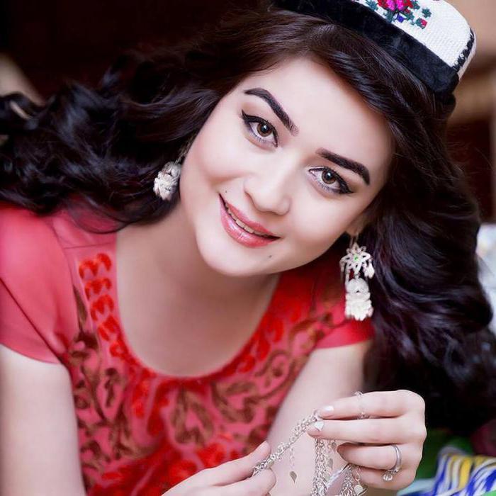 Картинка таджики девушка