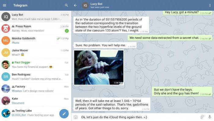 русский язык в телеграмм на андроид