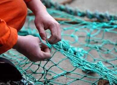 видео как вязать сеть для рыбалки