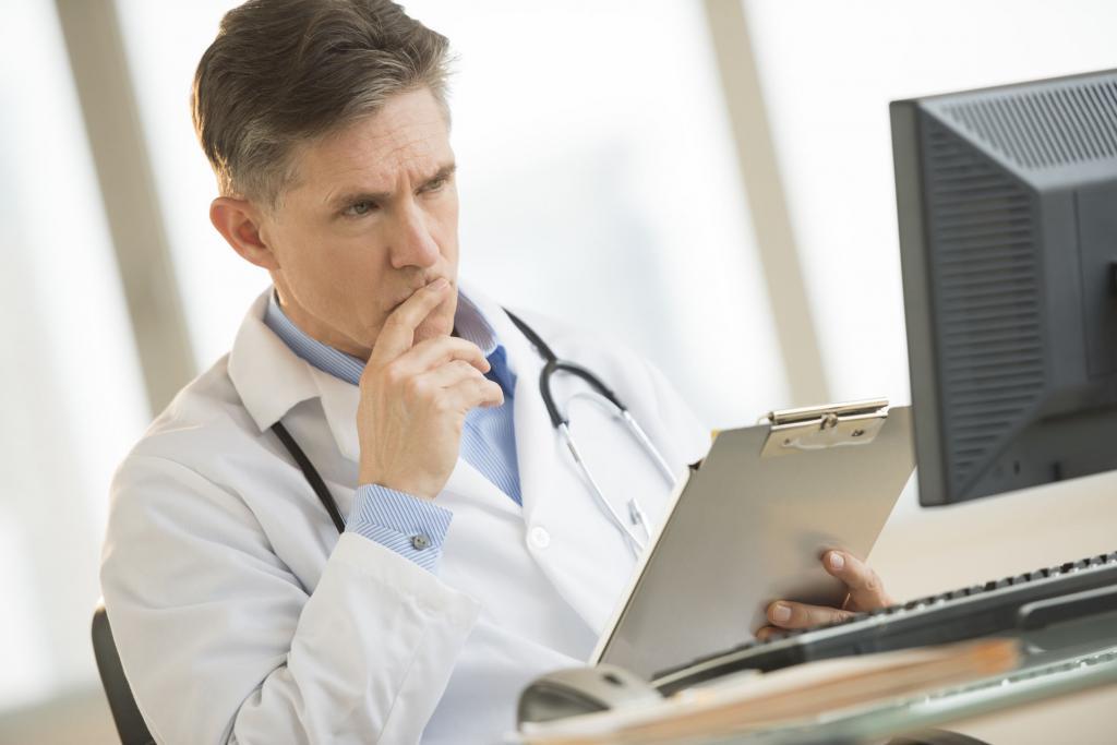 Доктор за работой