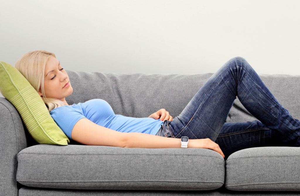 Отдых на диване