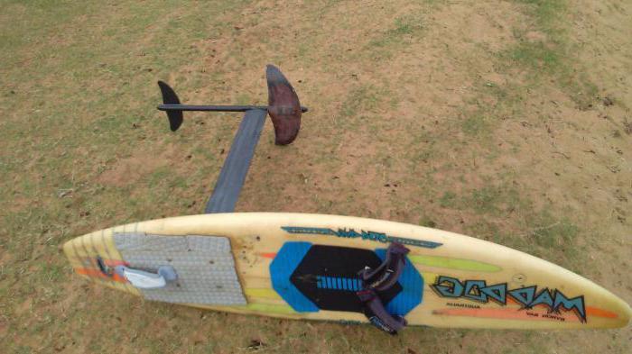 доска для серфинга с мотором своими руками