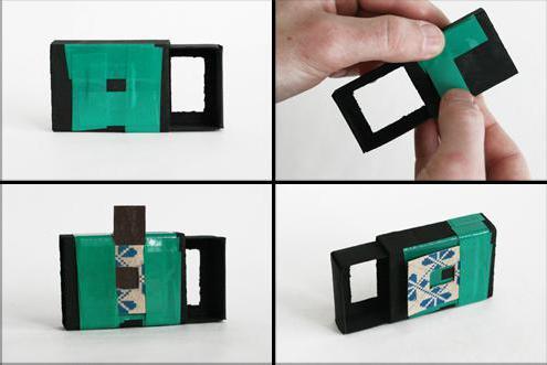 Как сделать камеру обскура фото 394