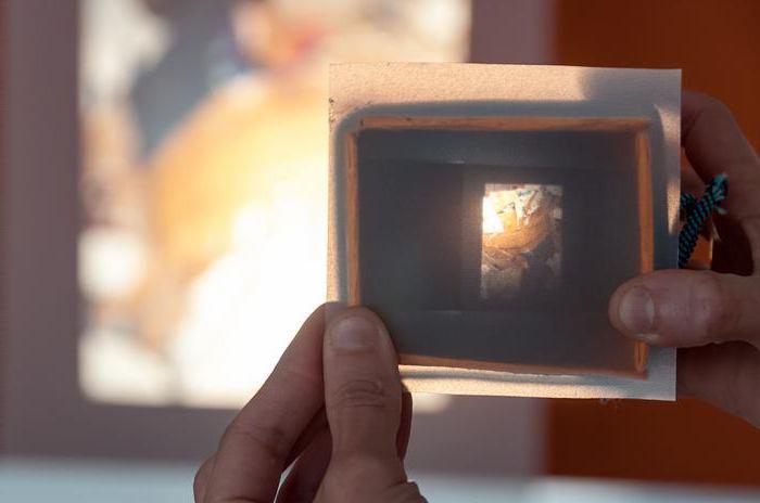 как сделать камеру обскура своими руками из коробки