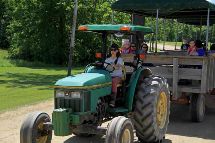 какие категории тракторных прав