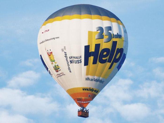 стоимость воздушного шара с корзиной