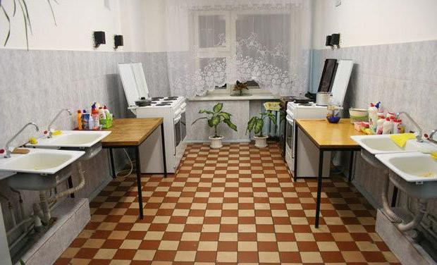содержание общежитий квартирного типа