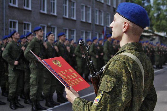 Когда присяга в армии после призыва 2018
