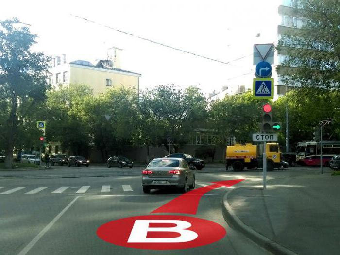 правила проезда светофора с дополнительной секцией налево