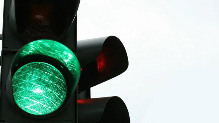 светофор с дополнительной секцией прямо правила проезда