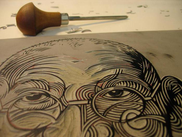 Linocut is a... Description, features, history and development