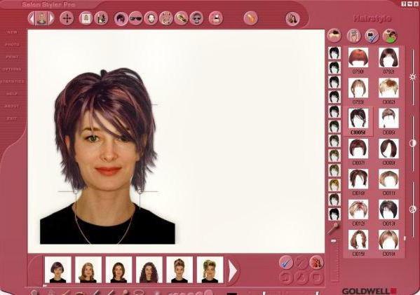 программа для подбора цвета волос айфон