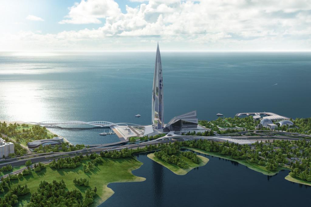 высота самого большого здания в мире