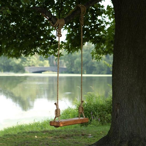 how to make a do-it-yourself swing