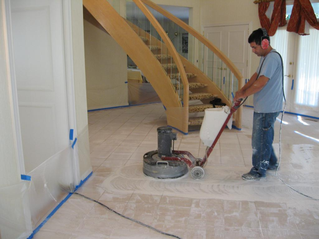 polishing marble at home