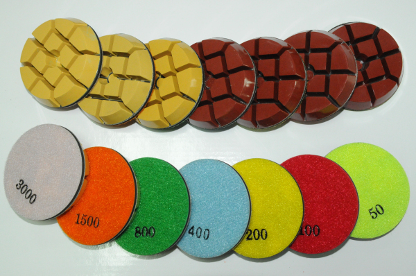 polished marble consumables
