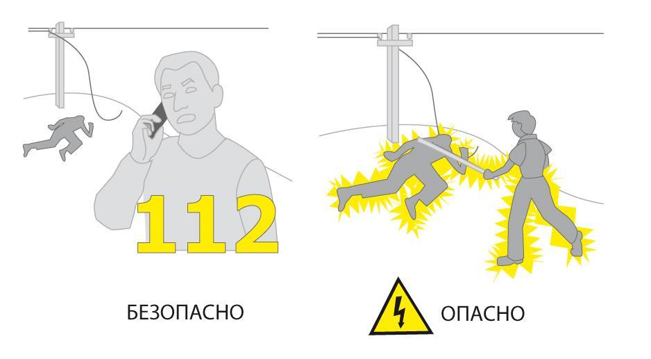освобождение пострадавшего от действия электрического тока до 1000в и выше