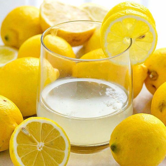сок лимона при подагре