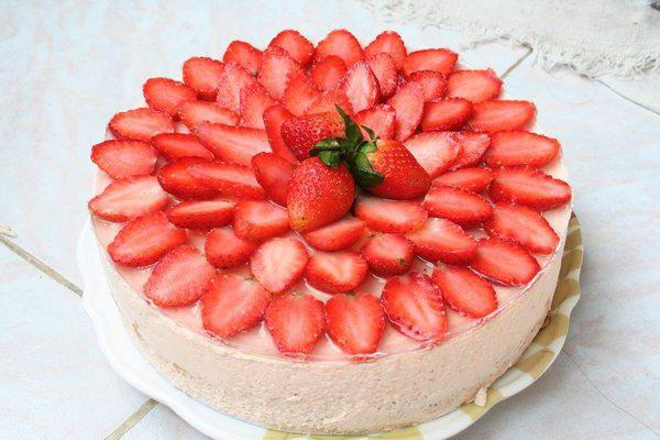 Торт с фруктами и сыром маскарпоне рецепт