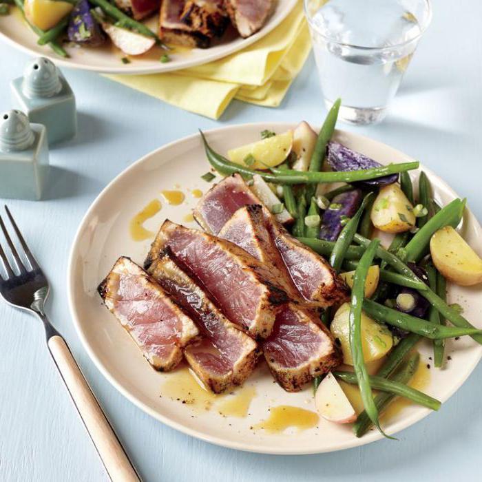 филе тунца рецепты