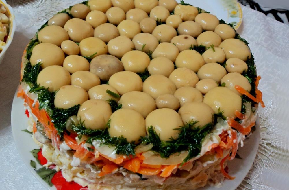 простые праздничные салаты рецепты с фото вспышкой